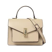Genuine Leather Women Shoulder Bag Small Designer Handbag Pink For Crossbody With Top Handle Bolsos Para Mujer