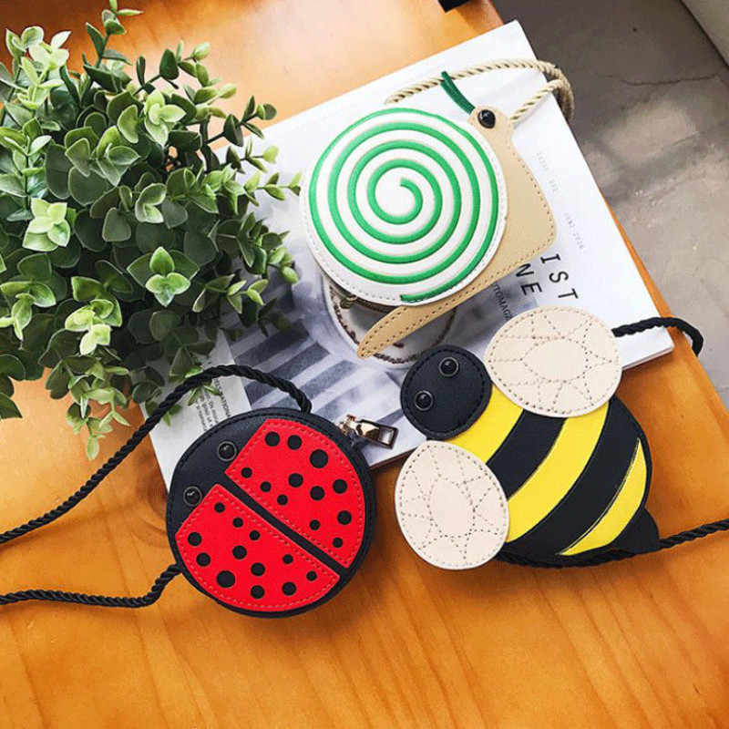 Anak-anak Bayi Gadis Tas Lebah Ladybug Anak Bayi Perempuan Messenger Tas Selempang Dompet Anak Tas