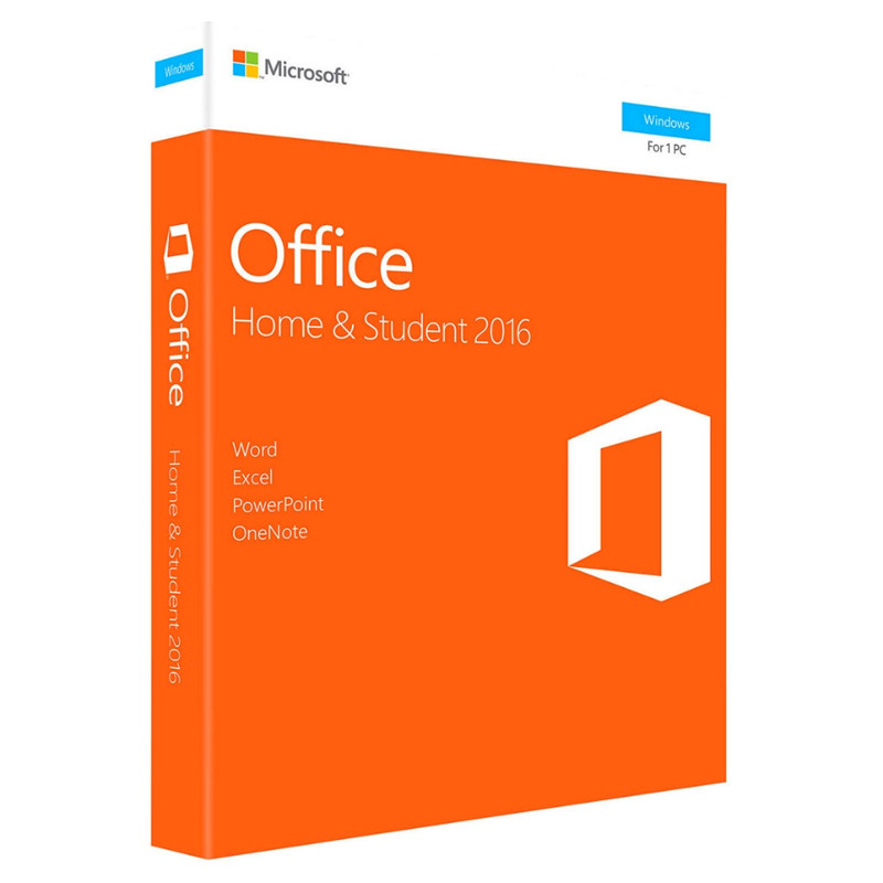 Microsoft Office Home And Student 2016  For Windows Retail Boxed With Product Key Code PC Download