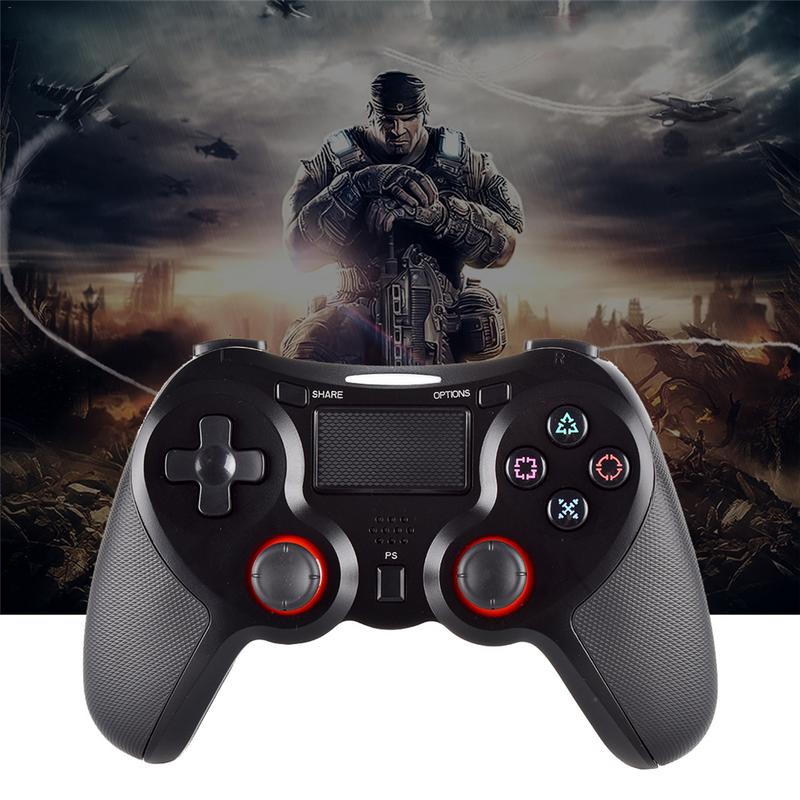 Gamepad Controller For Sony PS4 Bluetooth Wireless Controller For PlayStation 4 Wireless Dual Shock Vibration Joystick Gamepads 2018 new upgrade version 5 50 bluetooth wireless gamepad joysticks for playstation4 dual shock 4 controller ps4 controller