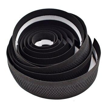 PROMEND дорожный велосипед Руль Лента Черная сетка дизайн нескользящая Водонепроницаемая Bartape Мягкая EVA губчатая кожа лента черный 75 г