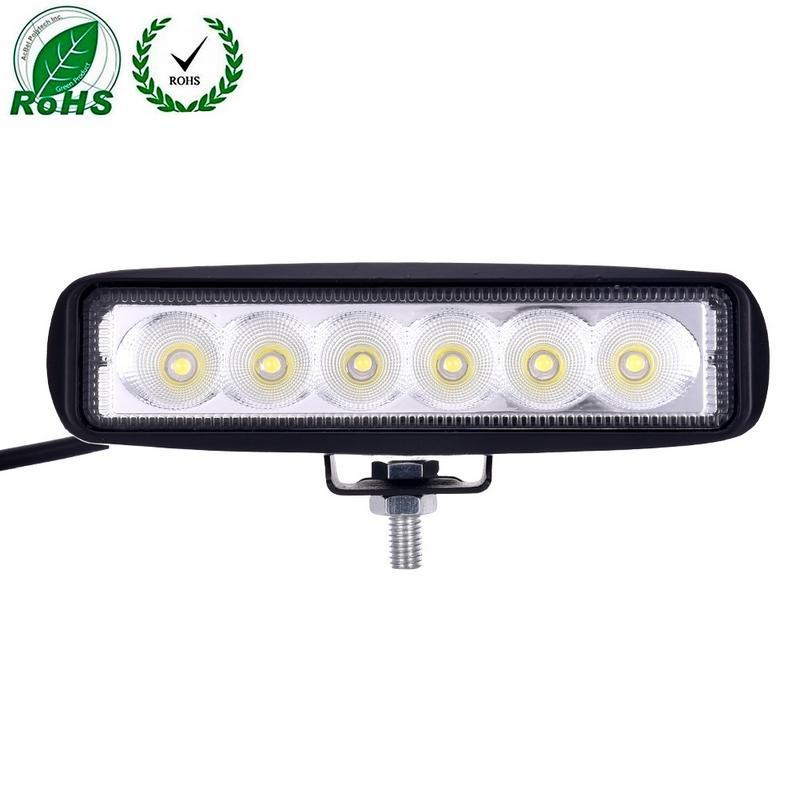 18W 6 inch Car LED Work Light Bar Flood Driving Fog font b Lamp b font