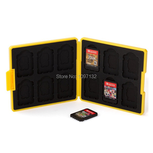 Image 3 - Nintend Switch Accessories Portable Game Cards Case Shockproof Hard Shell Storage Box For Nintendo Switch NS Games