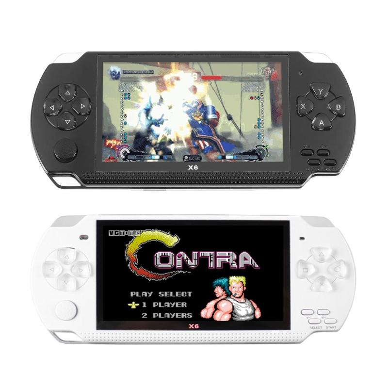 Romantisch X6 4,3 Zoll Video Spielkonsole Handheld 8g Memory-spiel Maschine Spiel Player Unterstützung 16g Tf Karten Für Gba Für Nes Unterhaltungselektronik