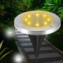 Garden Lamp LED Solar Powered Outdoor Light Colorful Lawn for Home Illumination garden led
