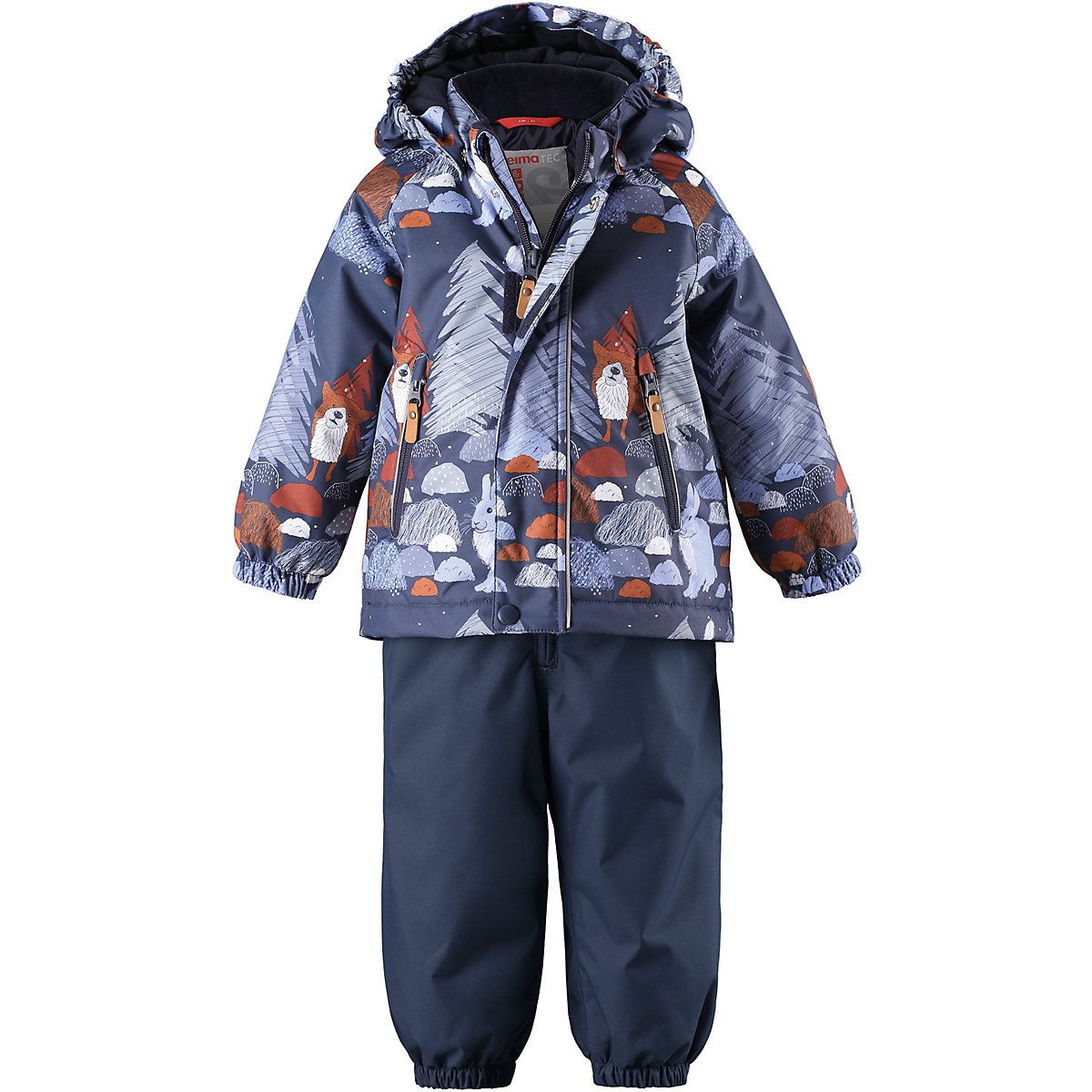 REIMA Babys Sets 8688723 for boys Polyester Baby Kit boy Jacket and pants santic mc07004v outdoor cycling windproof sunproof polyester jacket for men fluorescent green xl
