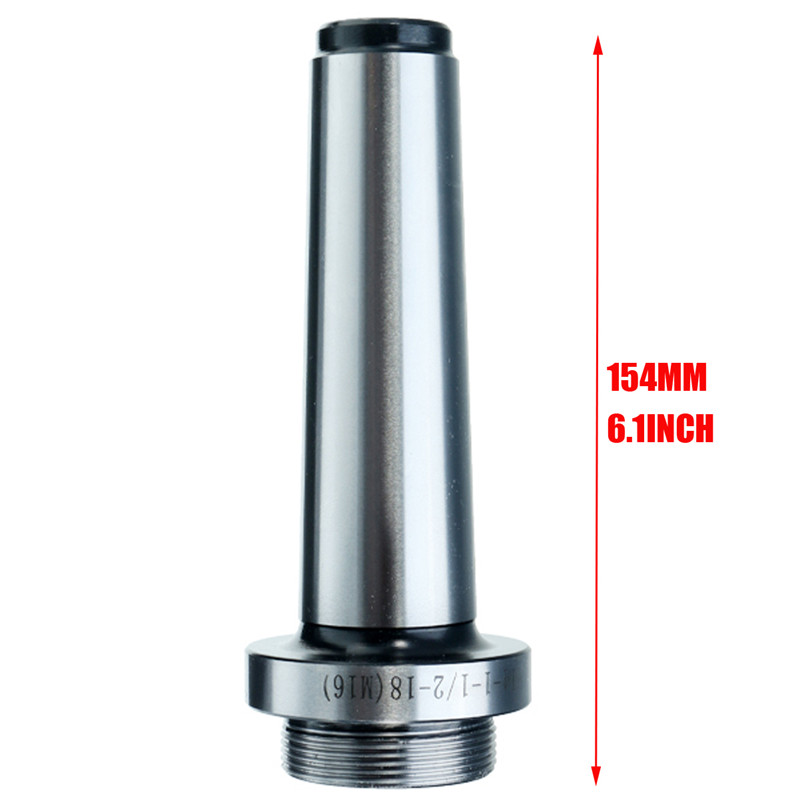 1Pcs Sliver MT4 Boring Shank Lathe Boring Bar Holder For F1 Boring Head Thread M16X2.0P 154mm Length High Quality