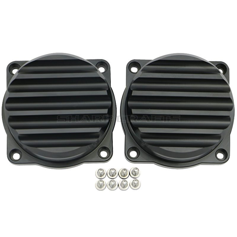 Image 5 - 2 Pack Motorcycle CNC Injection Carburetor Cover Ripple Brass Carb Tops For Triumph Bonneville Scrambler Thruxton 900 2008 2015-in Motorbike Ingition from Automobiles & Motorcycles
