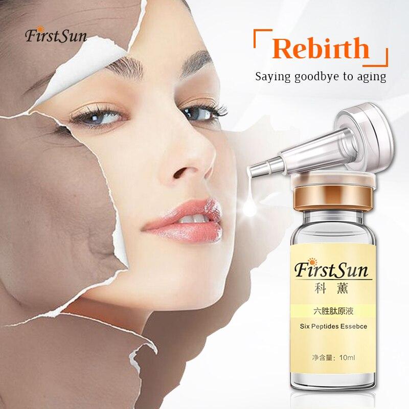 Six Peptides Serum Repair Collagen Face Cream Anti-Aging Wrinkle Lift Firming Whitening Moisturizing Acne Treatment Skin Care