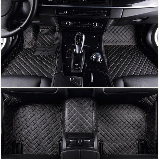 ChiTu custom car floor mats for GMC Sierra 1500 Sierra 2500 Yukon Denali 3D car-styling car leather carpet