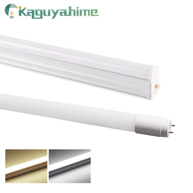 Kaguyahime 30cm 60cm Integrated T8 T5 LED Tube 6W 10W 220V/110V Fluorescent Tube LED T5 Light Tube Lamp Lighting 300mm 600mm