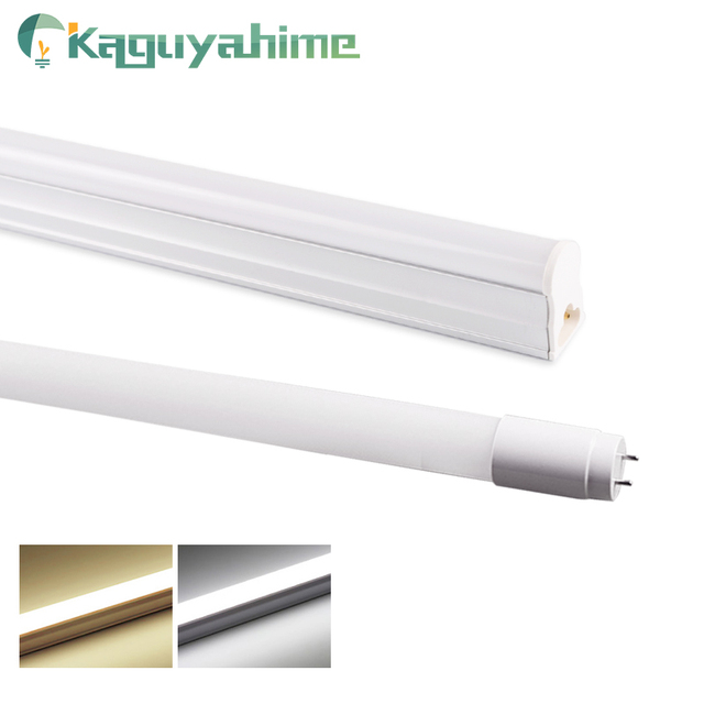 Kaguyahime 30cm 60cm integrado T8 T5 tubo LED 6W 10W 220V LED de tubo fluorescente T5 tubo de luz de iluminación de la lámpara 300mm 600mm
