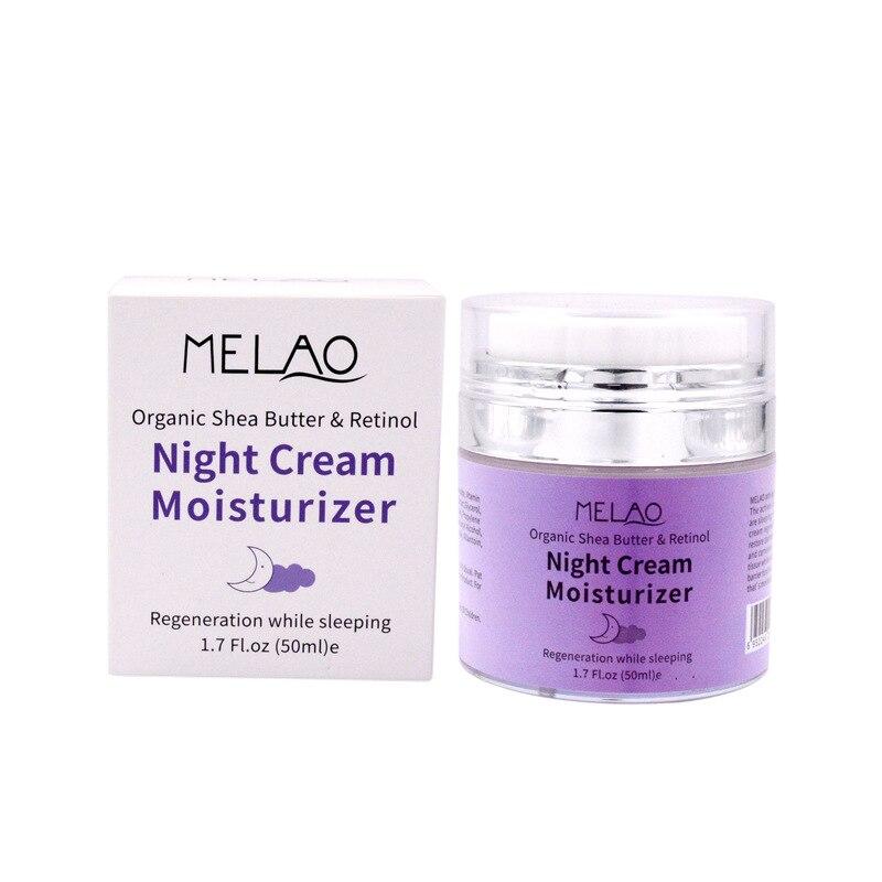 skin care High Quality Night Cream Organic Retinol Moisturizer Nourishing Night Cream Hyaluronic Anti-Wrinkle 50g 2