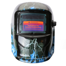 New Solar Auto Darkening Welding Helmet Welder Goggles/Mask/Cap with 5PCS Replacement Lens for Machine PP