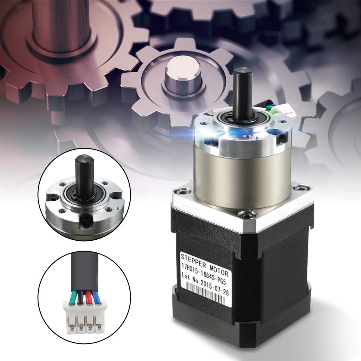Nema17 Stepper Motor 42 motor Extruder Gear Stepper Motor Ratio 5.18:1 Planetary Gearbox Nema 17 Step Motor