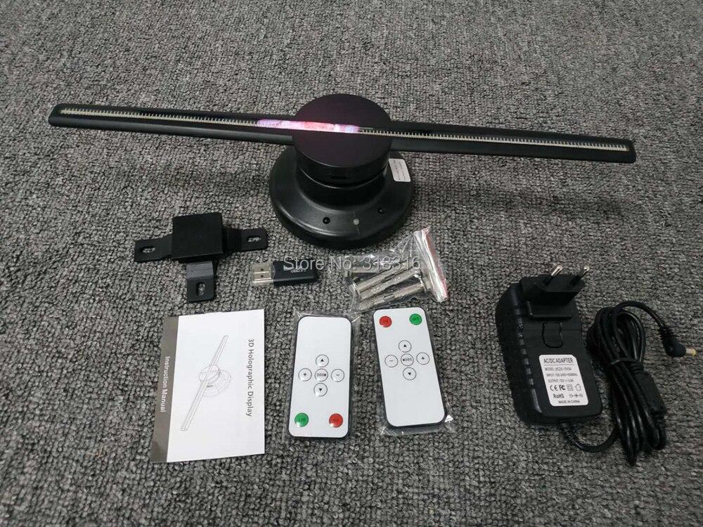 Модный голограмма вход непосредственно 3D wifi 42 см светодио дный светодиодный дисплей вентилятор для магазина рекламы