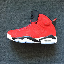 6b02db3b573252 Hot 2018 Jordan Air Retro 6 VI Men Basketball Shoes Oreo Angry red suede  Infrared Athletic Outdoor Sport Sneakers 40-47