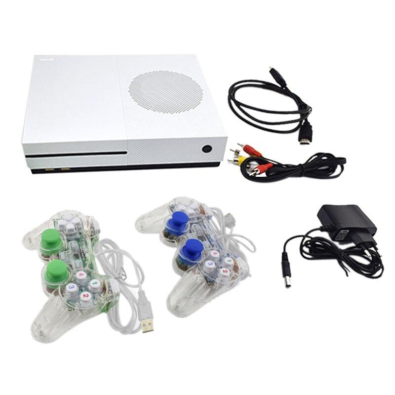 Data Frog Hd Tv Consoles de jeux 4 Gb Console de jeux vidéo prise en charge Hdmi Tv Out intégré 600 jeux classiques pour Gba/Snes/Smd/Nes Eu Pl
