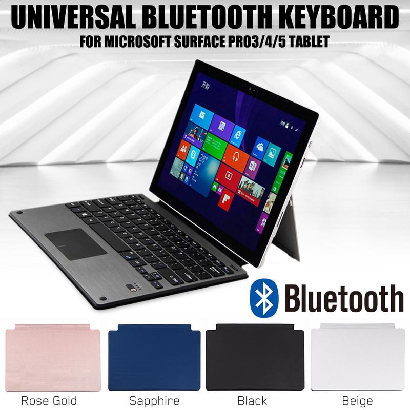 External Wireless Bluetooth 3 0 Ultra thin Keyboard For Microsoft Surface Pro3 4 5 Tablet Laptop