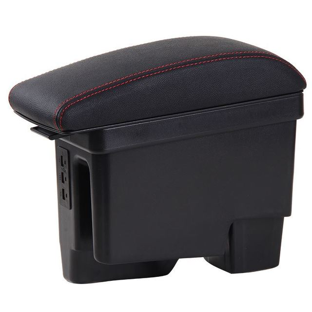 Automovil Styling Auto Car Arm Rest Car-styling Parts Mouldings Decorative protector Modified Armrest Box 17 FOR Skoda Rapid