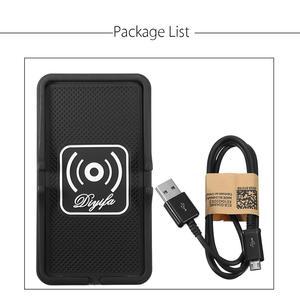 Image 5 - צ י אלחוטי מטען לרכב טלפון מטען מחזיק מהיר מהיר טעינה הר החלקה Pad Mat עבור IPhone XS מקסימום XR Huawei Xiaomi