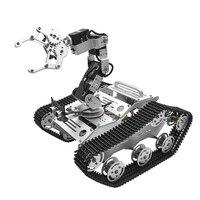 В наличии TL TECH KiBOT 2 6DOF RC рука робота автомобиля PS2 Stick Управление образование комплект для детей подарок