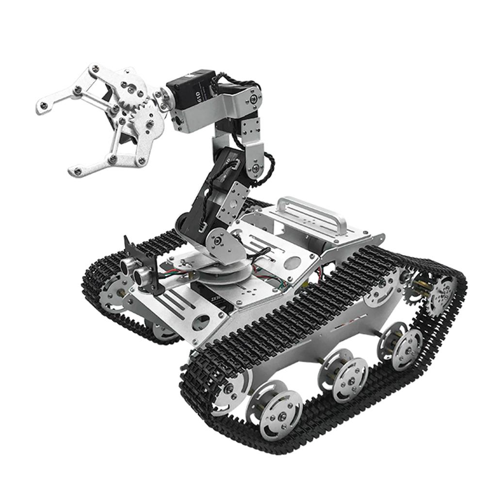 En stock TL-TECH KiBOT-2 6DOF RC bras robotisé Voiture PS2 Bâton Contrôle L'éducation Kit Pour Enfants Cadeau