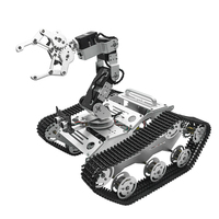 In Stock TL TECH KiBOT 2 6DOF RC Robot Arm Car PS2 Stick Control Education Kit For Kids Gift