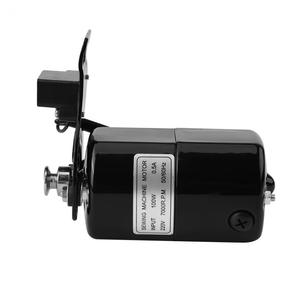 Image 3 - 220V 100W Sewing Machine Motor 7000 RPM K bracket 0.5 AMP  Home Sewing Machine parts AC Motor Eu Plug