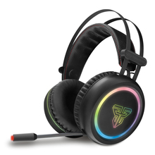FANTECH HG15 7.1 Channel LED RGB Light USB Wired Gaming Headset Surround Sound Stereo Gamer Earphone Headphone With Microphone zapet g9000 surround sound version game gaming headphone usb 3 5mm aux pc headset earphone headband with microphone led light