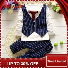 Baby Clothing Sets For Boys Clothes Set Kids Girl Set Long Bear Newborn Suits Infant Toddler Boy Clothes  недорого