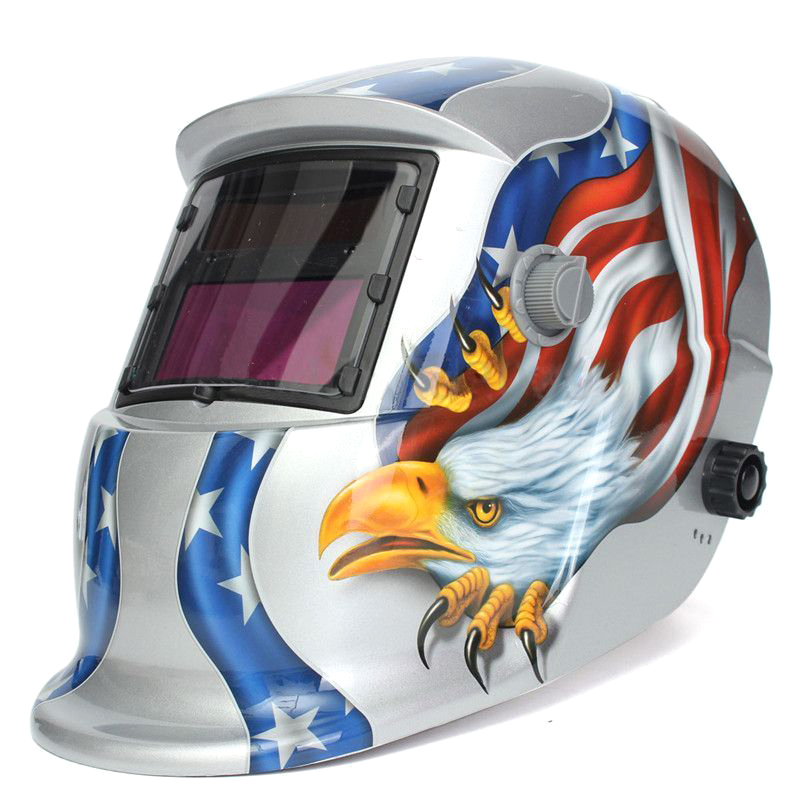 Welding Mask Hood Solar Automatic Welding Helmet Face Protection X2R4