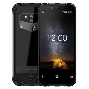 "Image 4 - Oukitel Wp1 Ip68 étanche 4gb 64gb 5000mah Mtk6763 Octa Core 5.5 ""Hd + 18:9 affichage sans fil charge Smartphone Tri preuve"