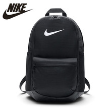 цена на Nike Official BRASILIA Training Backpack ( Medium-sized ) Outdoor Lightweight Sports Bag# BA5329