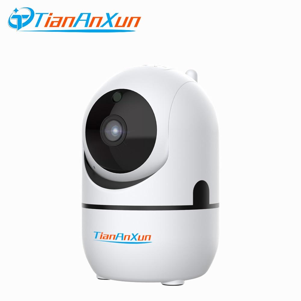 Câmera Wi-fi Mini Câmera IP 1080P YCC365 Tiananxun Nuvem Sem Fio da Segurança Home Auto Tracking Wi-Fi Câmeras de Vigilância CCTV