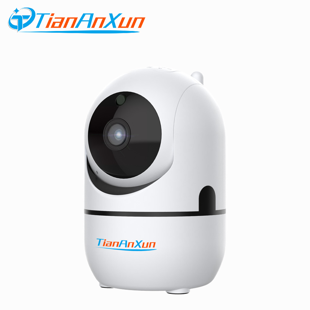 Tiananxun IP Camera Wifi 1080P Cloud Home Security Wireless Mini Camera  Auto Tracking Wi-Fi CCTV Surveillance Cameras YCC365Tiananxun IP Camera Wifi 1080P Cloud Home Security Wireless Mini Camera  Auto Tracking Wi-Fi CCTV Surveillance Cameras YCC365