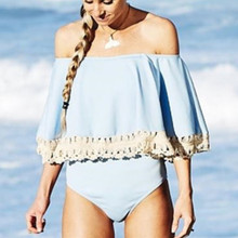 цены на 2019 Striped Slash Neck Beach Bodysuit Summer Sexy Women Random Bodycon Bodysuit A Piece Beachwear  в интернет-магазинах
