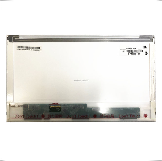 Free Shipping N156B6 L0A L0B N156BGE L21 L11 N156B6 L04 L05 LTN156AT23 LTN156AT22 LP156WH4 TLC1 TLC2 TLB1 1366*768 40 Pins