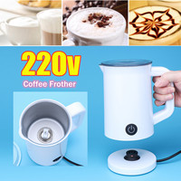 Electric Warm Milk Frother Automatic Coffee Foaming Machine Cappuccino Latte Maker Coffee Tools Kitchen Accessories Appliance