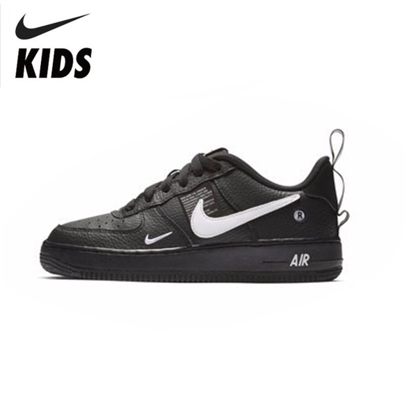 hot sale online fa7f0 9c567 Detail Feedback Questions about Nike AIR FORCE 1 LV8 UTILITY(GS)  Comfortable Will Child Motion Children s Running Shoes  AR1708 001 on  Aliexpress.com ...