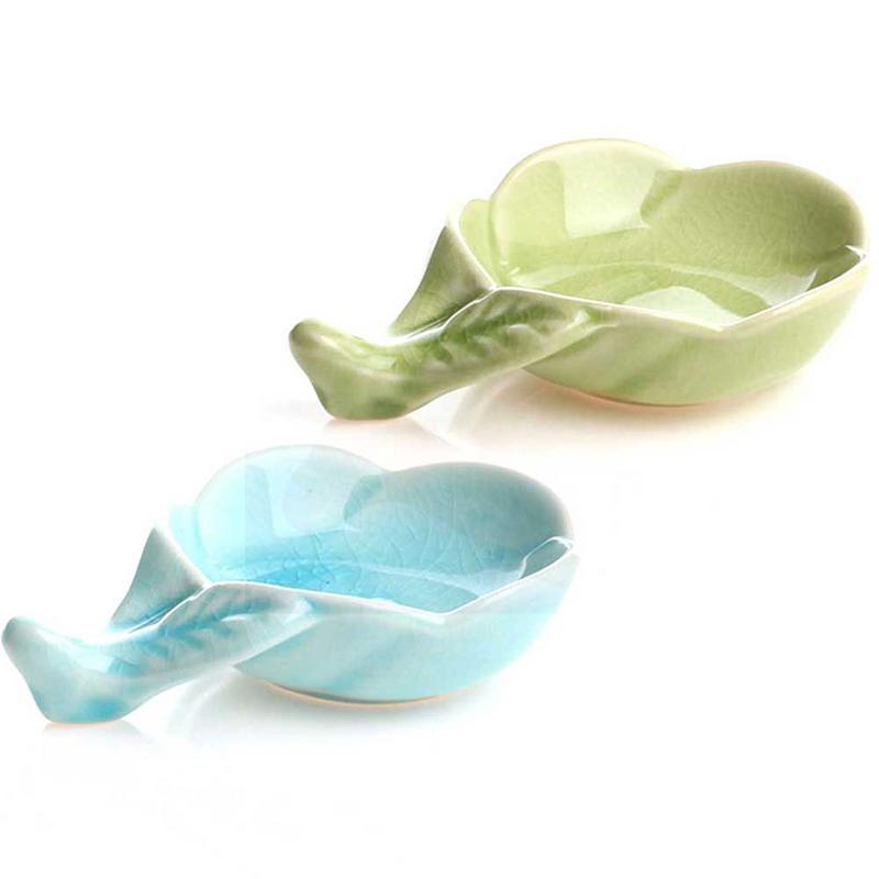 Plum Ceramic Sugar Spice Cup Dip Storage Bowl Seasoning Sauce Dish Utensil
