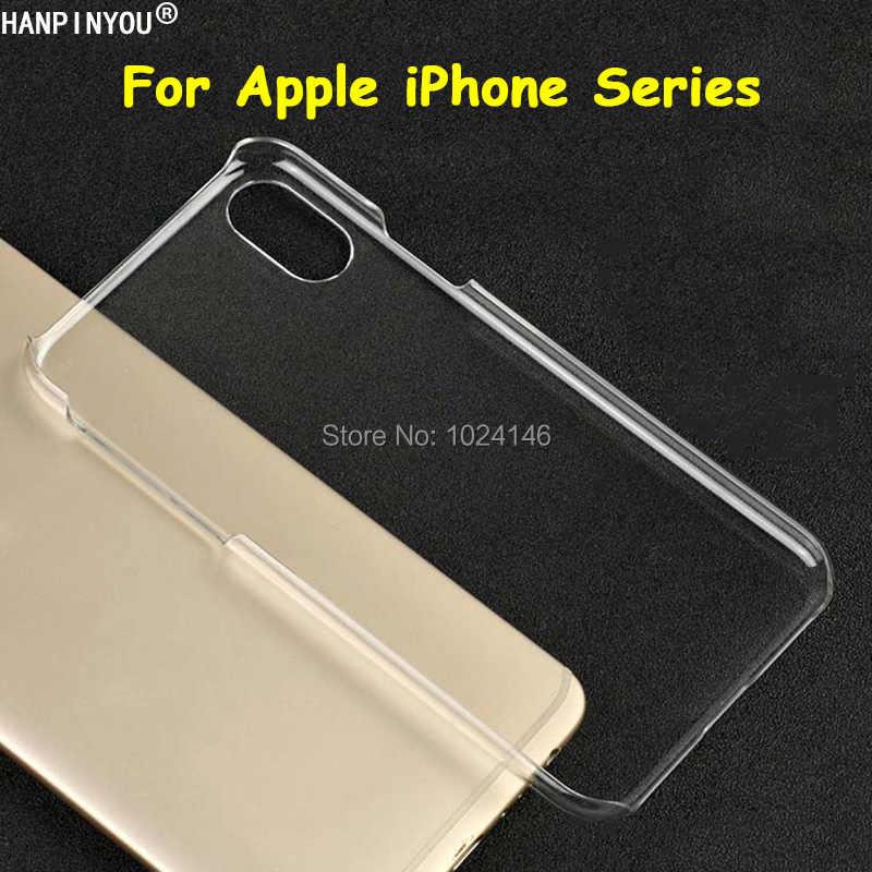 Cho Iphone 11 Pro X XS Max XR IPod Touch 5 6 SE 5 5S 6 6 S 7 8 plus Pha Lê Trong Suốt Cứng PC Ốp Lưng Vỏ Bảo Vệ