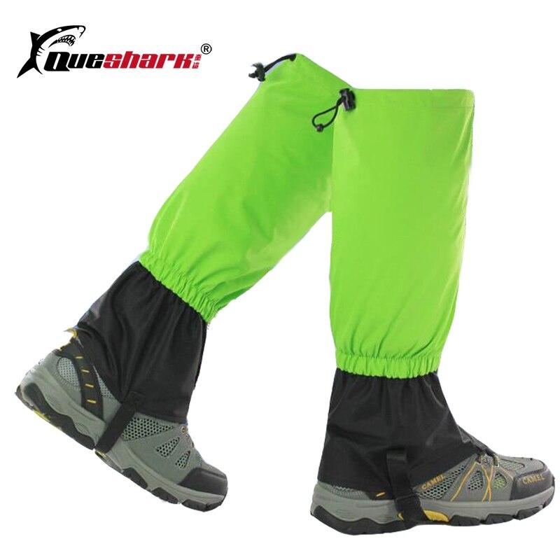 Waterproof Cycling Legwarmers Shoe Cover Hiking Capming Trekking Climbing Skiing Gaiters Men Women Kids Ski Boots Snow Gaiters