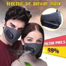 Anti-Pollution Respirator PM2.5 Filter Sport Cycling Bicycle Anti Dust Mask Protective Outdoor Bike Air Breathing Purifier(China)