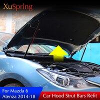 Car Hood Hydraulic Rod Buffer Strut Bars For Mazda 6 Atenza 2014 2017 2019 Car accessories