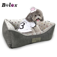 Dog Bed Puppies Supplies Spot Print Animals Cat Beds For Large Small Dogs Cat House Pet Bed Mat Cat Sofa Dot Plus Warm Pet Bed