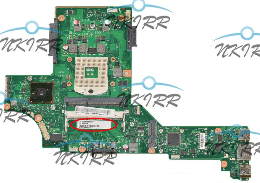 MAINZ10-6050A2307301-MB-A02 V000208010 1310A2307307 S989 HM57 DDR3 материнская плата для ноутбука Toshiba Satellite E200 E205 E205-1904