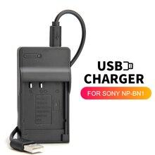 Carregador de bateria zhenfa usb, para sony NP BN1 BC CSN DSC W320 w330 w350 w360 w390 w510 w520 w530 w550 w580 w610 w620 w650