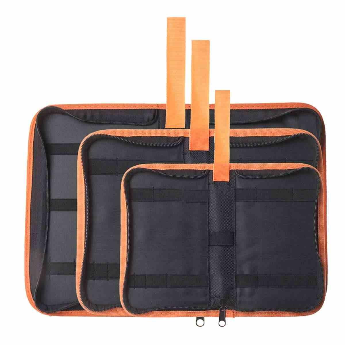 Kit De Ferramentas de Reparação de Hardware Pesado portátil Ferramentas De Armazenamento Transportadora Saco de Tecido Oxford Bolsa de Mão Bolsa Zip Novo S M L Gota navio