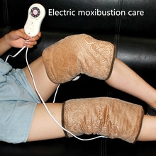 moxa Electric heated  kneepad health protector winter knee warmer Moxibustion treatment old cold leg